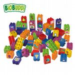 BiOBUDDi - Learning to build 60 blocks - Eco Friendly Block Set - 60 Blocks